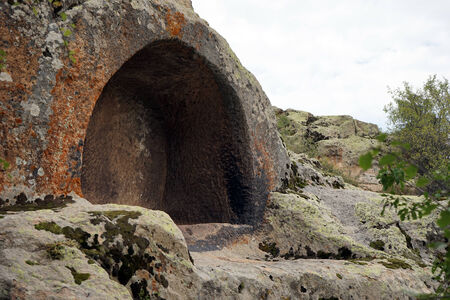 midas: Phrygian rock tomb in Midas, Turkey Stock Photo