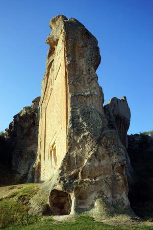 Świątynia Mita (Kybele) w Midas pobliżu Yazilkaya, Turcji