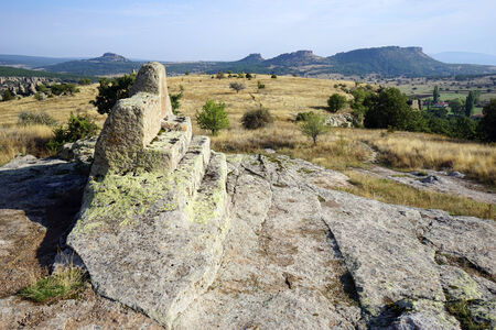 midas: Rock altar in Midas, Turkey
