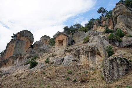 Phrygian rock tombs, Turkey