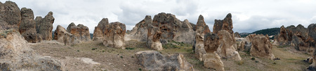 formations: Rock formations in Doger, Turkey