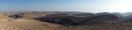 negev: Mountain in Negev desert, Israel Stock Photo