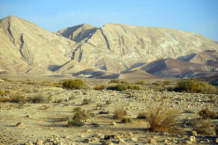 nahal: Mountain and Negev desert in Israel