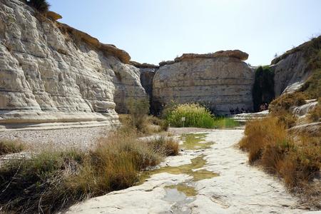 ein: Ein Akev in ravine, Irail