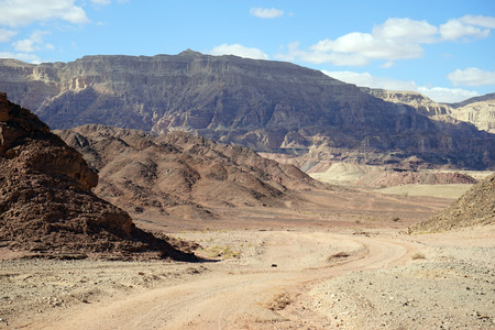 timna: Color mountain in Timna park in Negev desert, Israel
