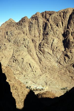monte sinai: Monasterio sagrado del Monte Sina� Dios oprimidos