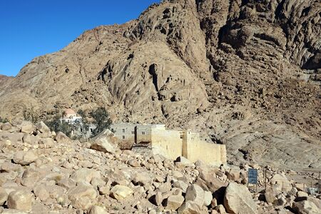 mount sinai: Monasterio sagrado del Monte Sinaí Dios oprimidos