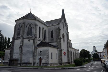 marie: SAINT-PALAIS, FRANCE - CIRCA JULY 2015 Sainte Marie Madeleine church