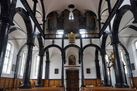 klaus: SACHSELN, SWITZERLAND - CIRCA AUGUST 2015 Inside  saint Bruder Klaus church