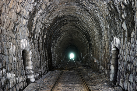 serbia: Long railway tunnel in Serbia