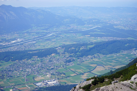 rein: Valley with Rein in Lihtenstein