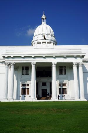 COLOMBO, SRI LANKA - 07 November 2016 Old Parlament building