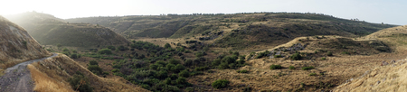 Landscape in Wadi Mezar national park