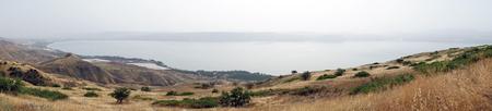 Kinnereth lake in Israel Stock Photo