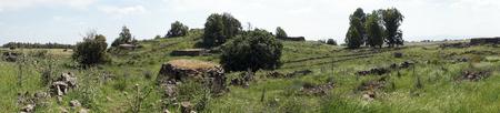 Ruins in Galilee in Israel Stock Photo - 102867301