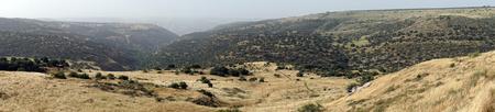 Mountain in Wadi Mezar national park Stok Fotoğraf