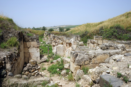 Ruins of Horvat Minya