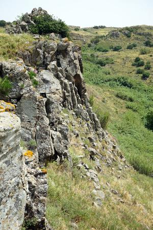 Rock in Galilee, Israel