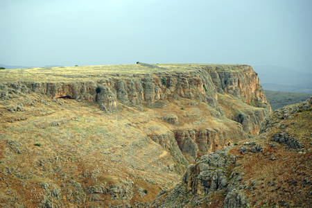 Arbel canyon in Galilee, Israel Stock Photo - 102907634