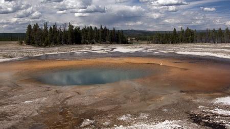 Yellowstone gejzer Zdjęcie Seryjne