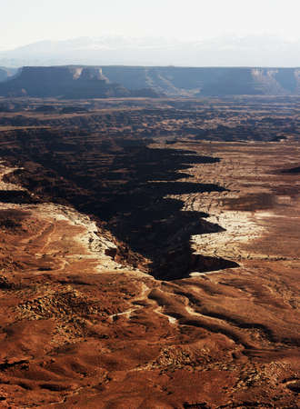 Canyonlands National Park, Utah morning just after sunrise. Stock Photo