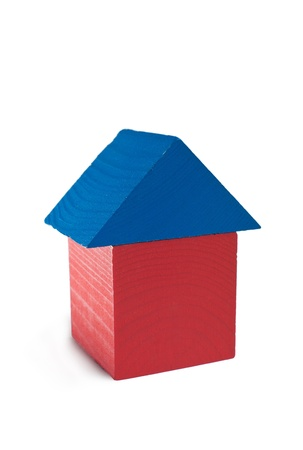 home of wooden blocks Stock Photo - 10894264