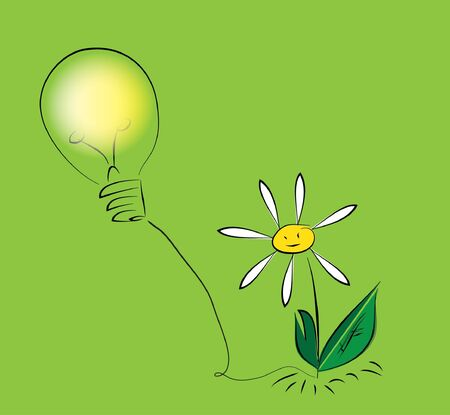 Flower with bulb