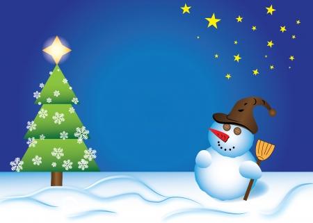 Christmas card Stock Vector - 16886132