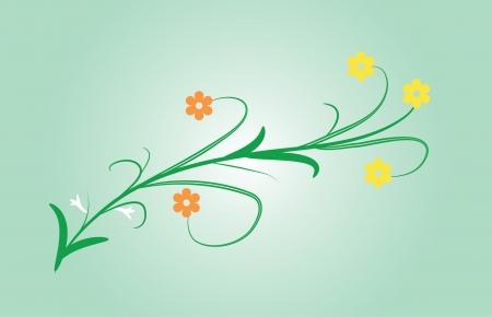 Floral ornament Illustration