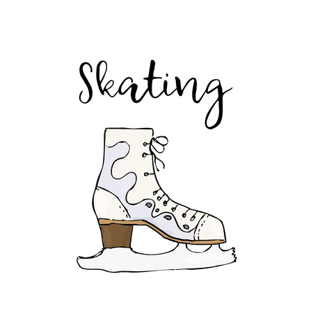 fitness equipment: Skate icon.