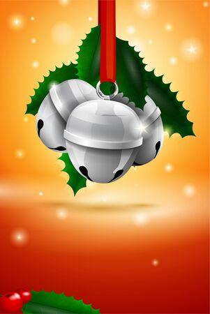 Christmas sleigh bell card