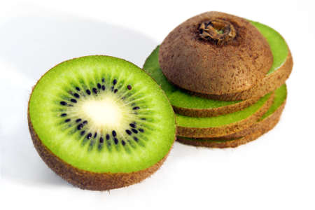 fresh kiwi isolated