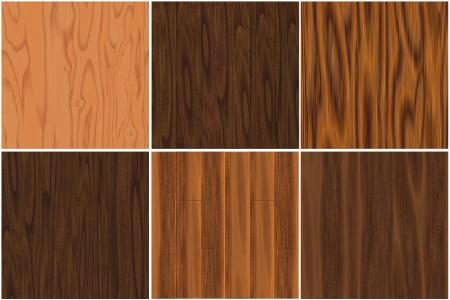 Seamless wood texture set
