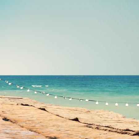 Summer sea sight