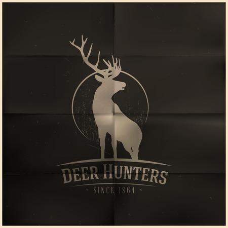 Deer buck on sciocco luna Archivio Fotografico - 26160127
