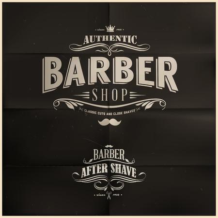 Barber Shop-Abzeichen