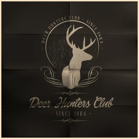 Deer Hunters Club Vector