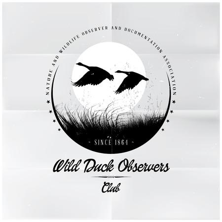 duck hunting: Wild Duck Observers Badge