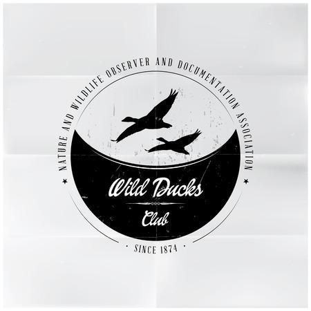 Wild Ducks Club Badge