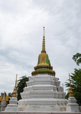 Thai Temple of Wat Chimplee at Ko Kret