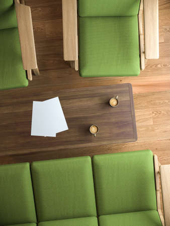 table: Coffee Table Stock Photo
