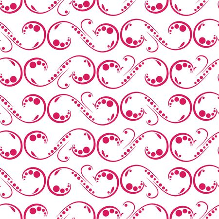 seamless texture: Vintage-Schmuck - Fr�hlingsstimmung, nahtlose Textur