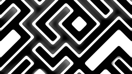 Black and White geometrical Pattern Chips Background Walpapaper Texture