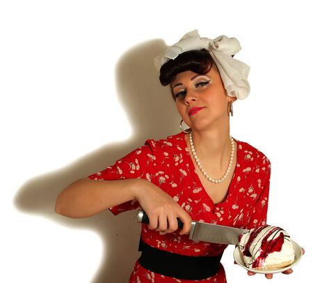 Girl in Pin up  She photo