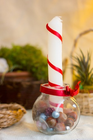 composition: Christmas composition Stock Photo