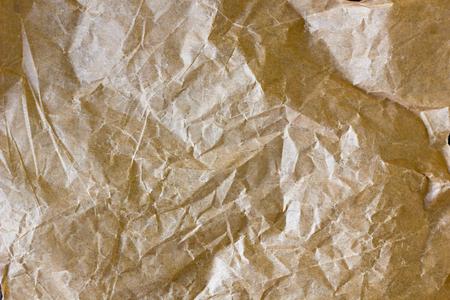 antiquary: Parchment paper texture. Closeup view of list of parchment