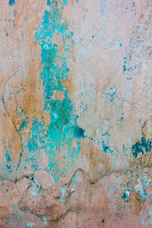 Old threadbare weathered concrete wall texture