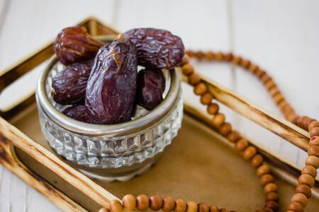 Dates for iftar time during ramadan month.
