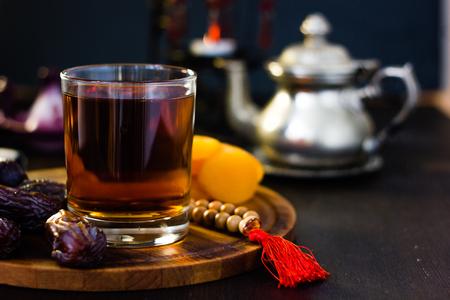 Tea or coffee for iftar on ramadan month.