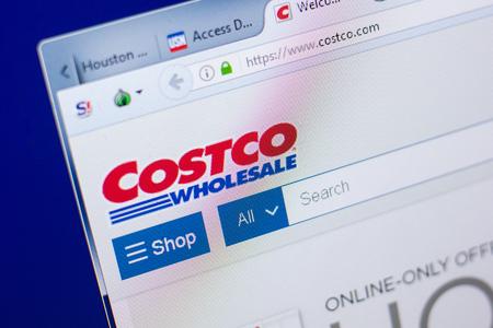 Ryazan, Russia - May 08, 2018: Costco website on the display of PC, url - Costco.com Editorial